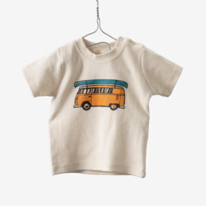 Baby t-shirt mini van