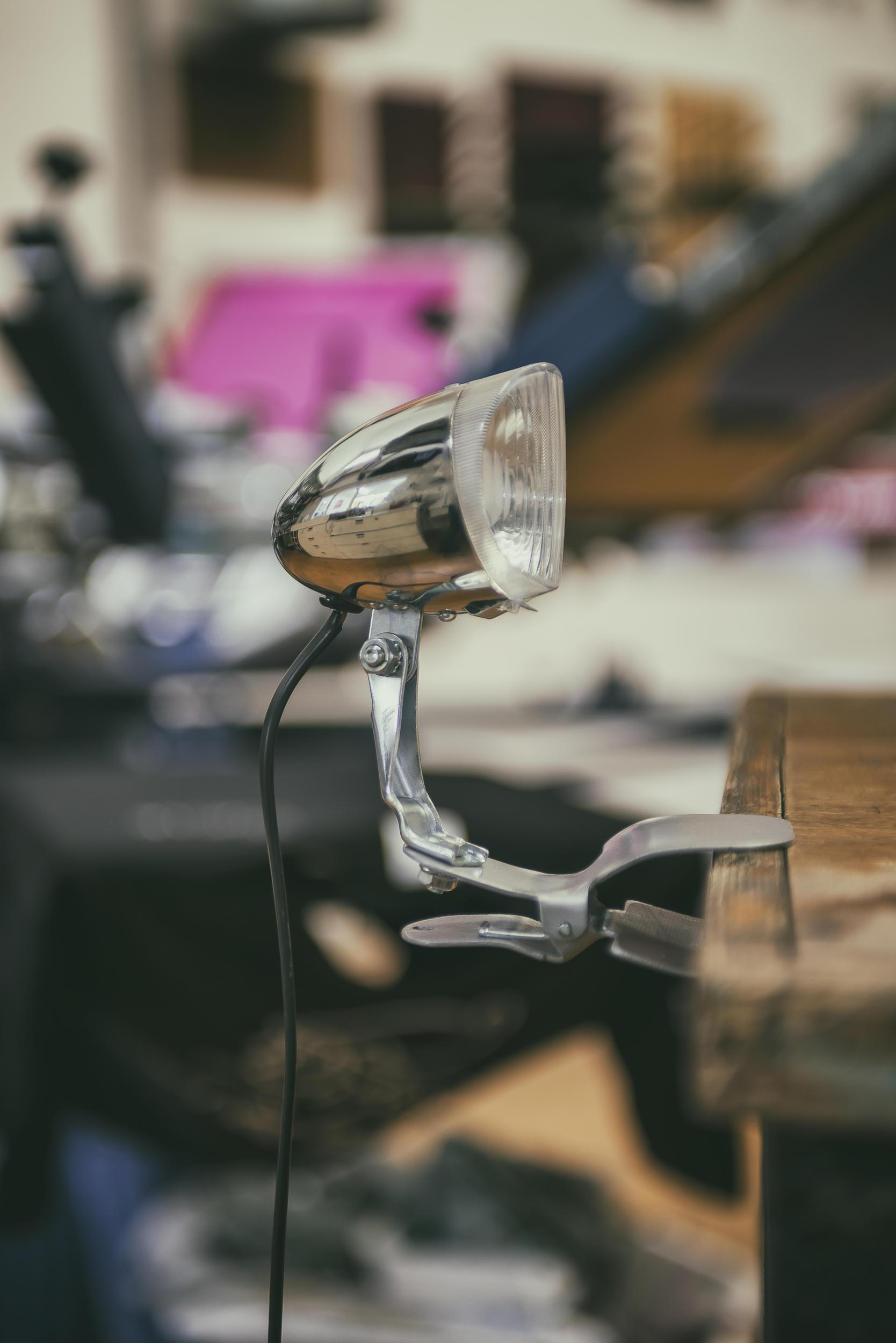 Fietslamp tafelklem voor verkoop