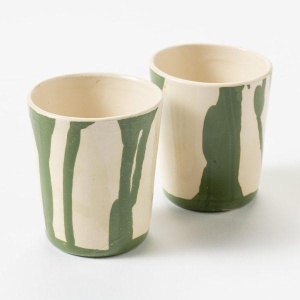 koffiekopjes groen