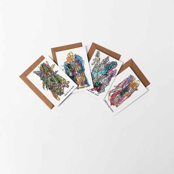 kaartenset ron cornet