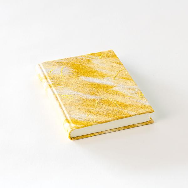 notitie boek geel